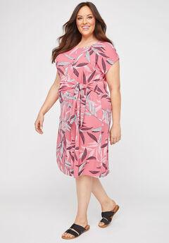 Malibu Tie-Waist A-Line Dress,