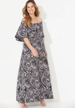 Meadow Crest Maxi Dress,