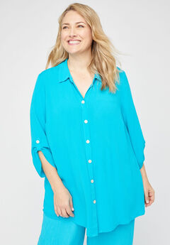Island Breeze Gauze Tunic,