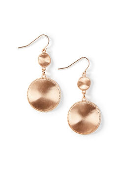 Haven Ridge Drop Earrings, ROSE GOLD