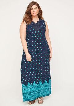 Terrace Ridge Maxi Dress,