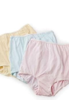 3-Pack Cotton Panties,