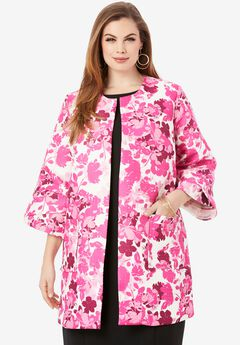 Tulip Sleeve Jacket,