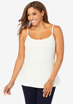 Cami Top with Adjustable Straps,