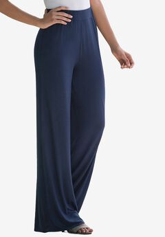 Everyday Knit Palazzo Pant,