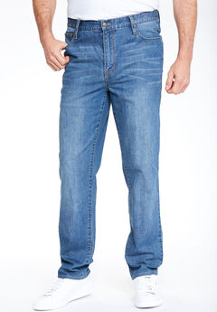 Liberty Blues™ Relaxed-Fit Stretch 5-Pocket Jeans,
