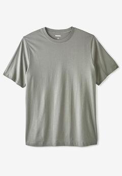 Shrink-Less™ Lightweight Crewneck T-Shirt,