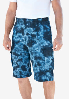 "Fleece 10"" Cargo Shorts ,"