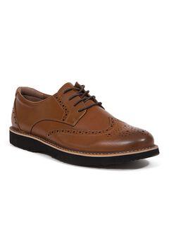 Deer Stags® Walkmaster Wingtip Oxford Shoes with S.U.P.R.O 2.0 Memory Foam,