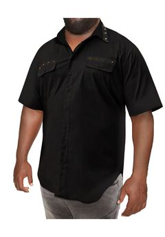 MVP Collections® Spike Trim Short-Sleeve Shirt,