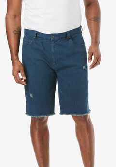 Liberty Blues™ Cut-Off Denim Shorts,