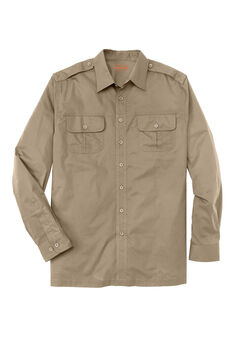 Long Sleeve Pilot Shirt by Boulder Creek®,
