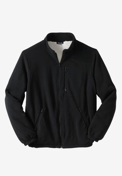 Explorer Plush Fleece Sherpa Jacket,