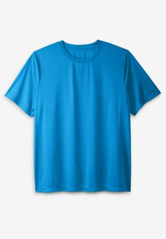 Moisture Wicking Short-Sleeve Crewneck Tee,