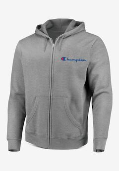 Full-Zip Fleece Hoodie,