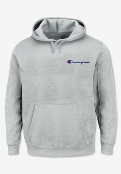 Champion Embroidered Logo Fleece Hoodie,