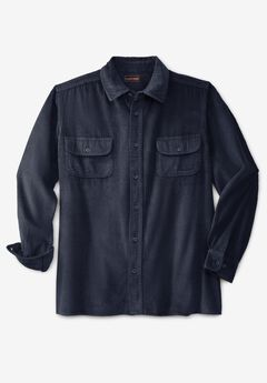 Long-Sleeve Corduroy Shirt,
