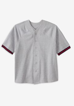 Liberty Blues™ Baseball Crewneck Shirt,