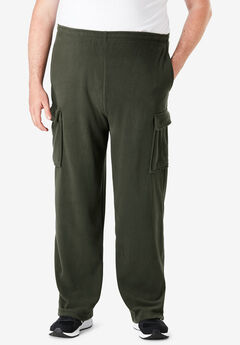 Explorer Plush Fleece Cargo Pants,