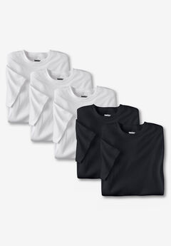 Cotton Crewneck Undershirts 5 pack,