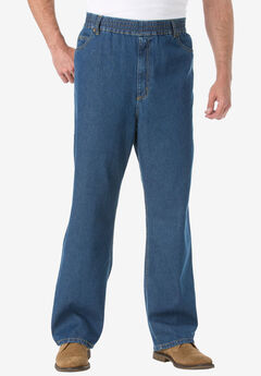 Loose Fit Comfort Waist Jeans,