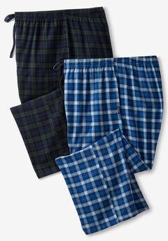 Hanes® Flannel Pajama Pants 2-Pack,