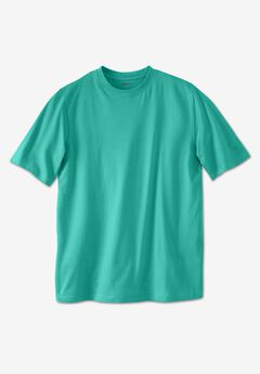 Shrink-Less™ Lightweight Crewneck T-Shirt,