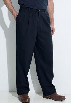 Knockarounds® Full-Elastic Waist Pleated Pants,