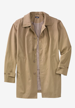 Water-Resistant Trench Coat,