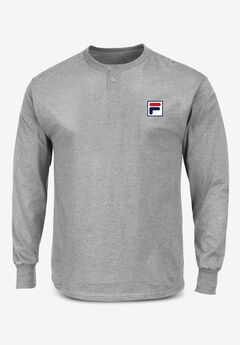 FILA® Thermal Pajama Shirt,
