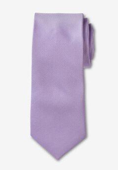 KS Signature Extra Long Classic Textured Tie,