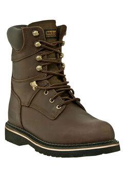 """McRae 8"""" Soft Toe Lace Boots,"""