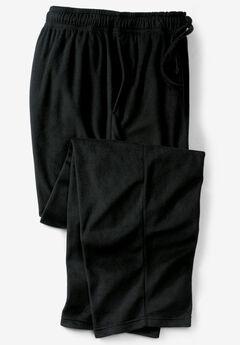 Solid Microfleece Pajama Pants,