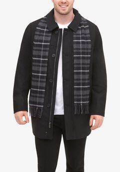 Walking Coat with Scarf by Dockers®,