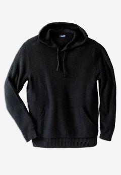 Shaker Knit Hoodie,