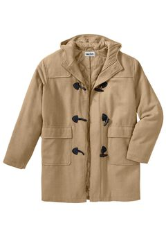 Toggle Parka Coat,