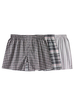 Woven Boxers 3-Pack,