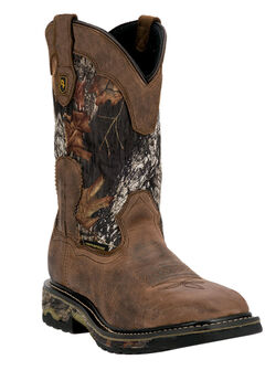 Dan Post Hunter Camo Shaft Steel Toe Boot,