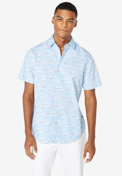Nautica® Stretch-Poplin Shirt,