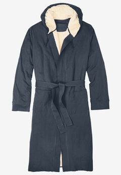 Sherpa-Lined Robe,