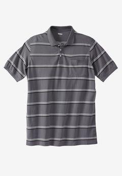 Liberty Blues™ Longer-Length Piqué Polo,