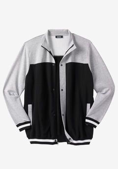 Coaches Collection Baseball-Inspired Jacket,
