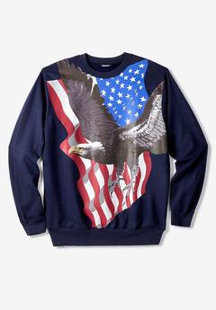 Graphic Fleece Sweatshirt,