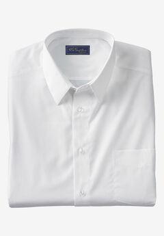 KS Signature No Hassle® Long-Sleeve Dress Shirt, WHITE