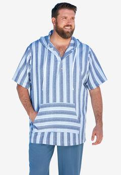 KS Island™ Gauze Short-Sleeve Hoodie,