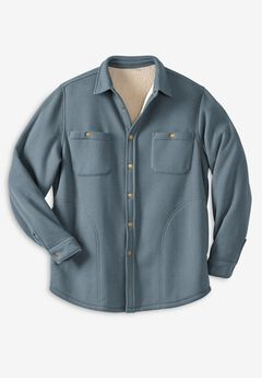 Boulder Creek® Waffle-Knit Jacket,