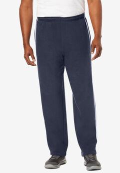 Side Stripe Fleece Sweatpants,