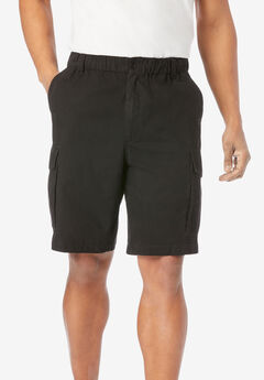 "8"" Moisture Wicking Cargo Shorts,"