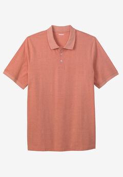 Longer-Length Piqué Polo Shirt,