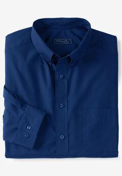 KS Signature No Hassle® Long-Sleeve Button-Down Collar Dress Shirt,